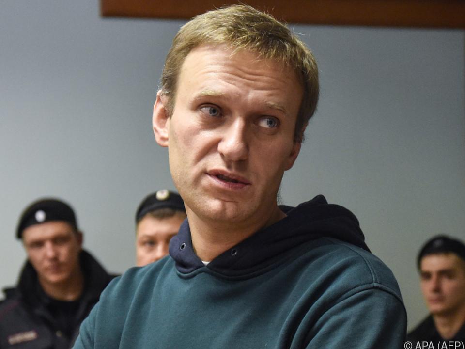 Nawalny wurde wiederholt festgenommen und stundenlang verhört
