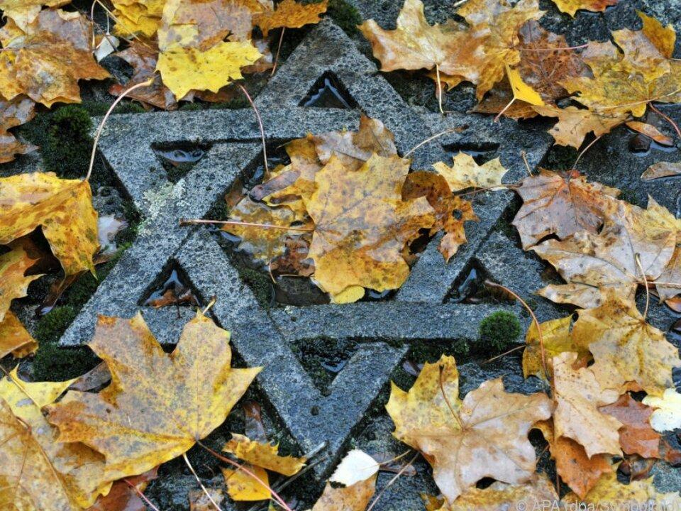 NS-Zeit war dunkelstes Kapitel unserer Geschichte nazi judentum davidsstern religion