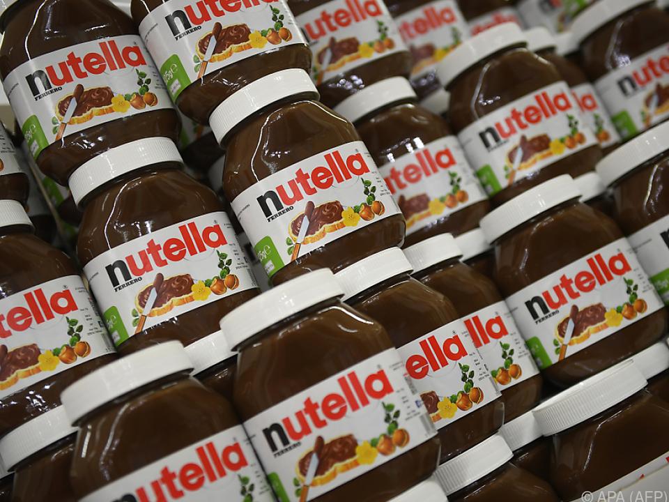 Nutella muss am Heimmarkt mit Konkurrenz rechnen