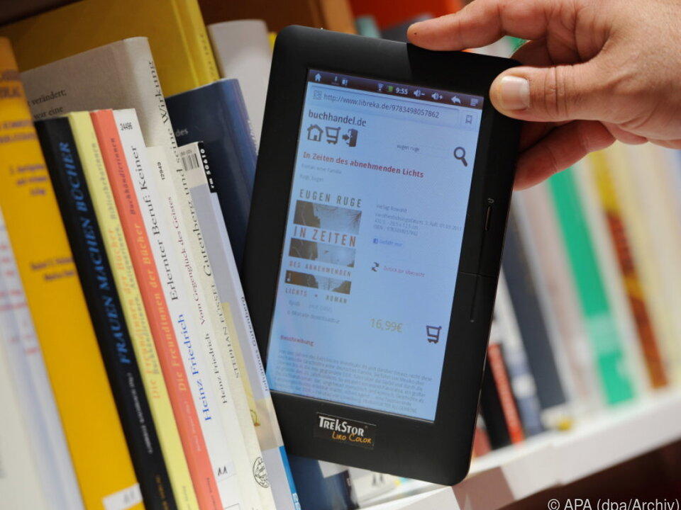 Ob gedruckt oder als E-Book - Manche lesen gar nichts
