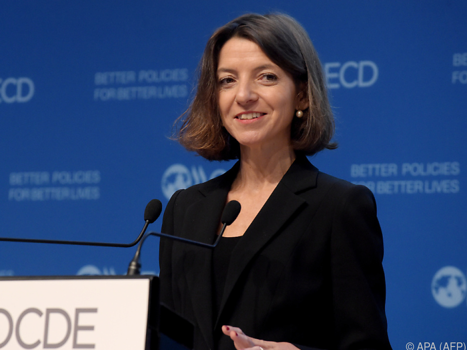 OECD-Chefökonomin Laurence Boone