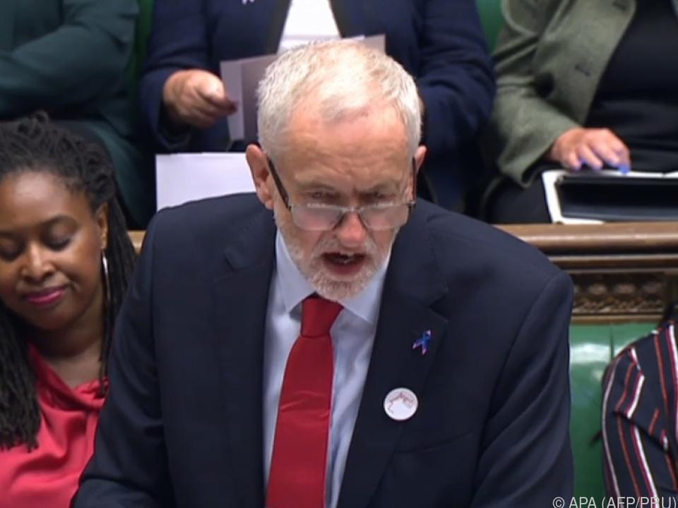Parteichef Corbyn hatte Antisemitismus eingestanden