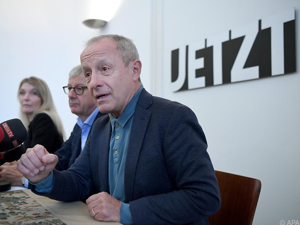 Peter Pilz glaubt an das Wiedererstarken seiner Liste