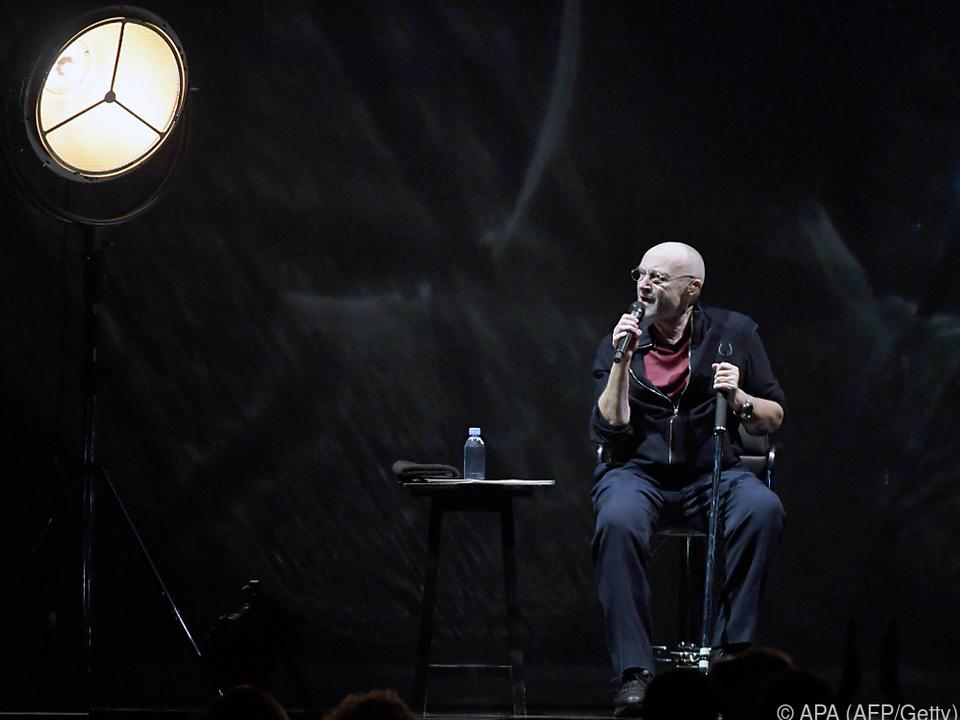 Phil Collins beehrt am 2. Juni das Ernst-Happel-Stadion