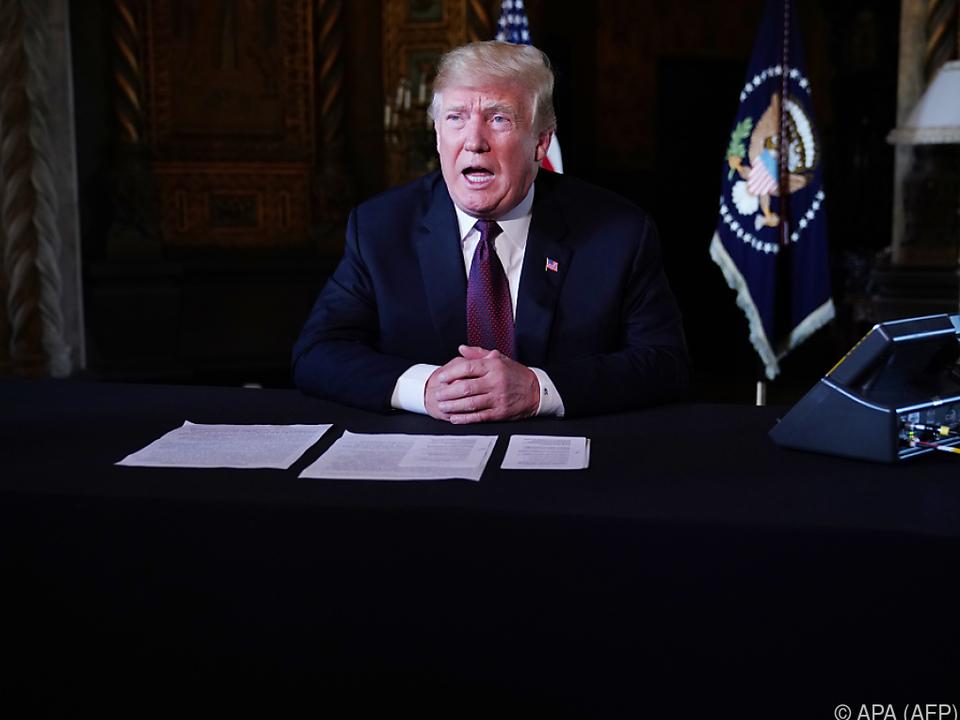 Ping-Pong zwischen US-Präsident Trump und der Justiz