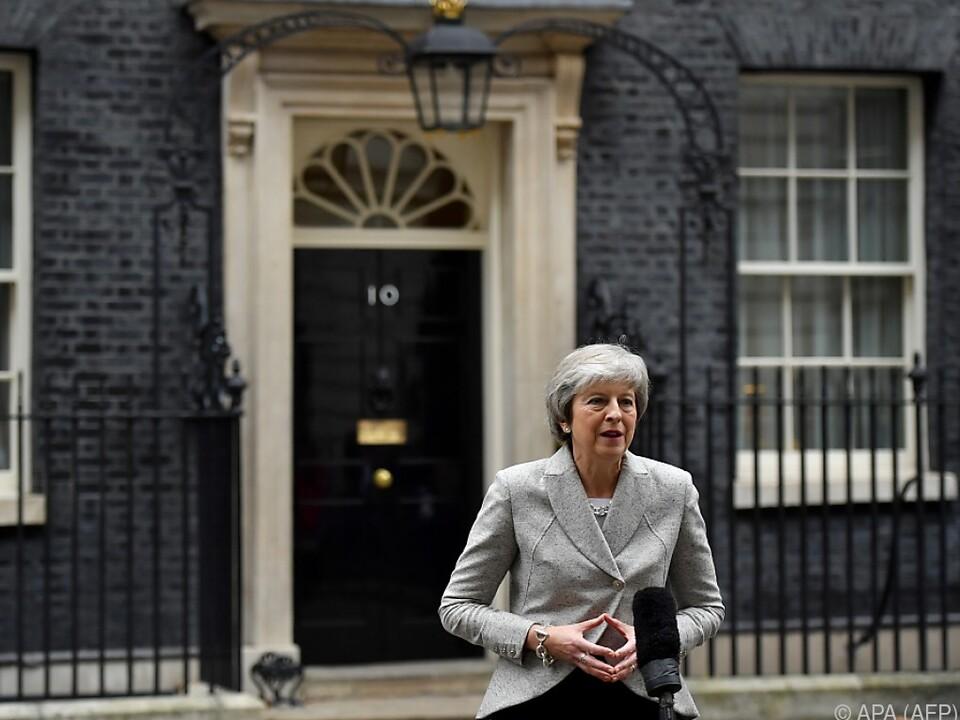 Premierministerin May gab sich kämpferisch