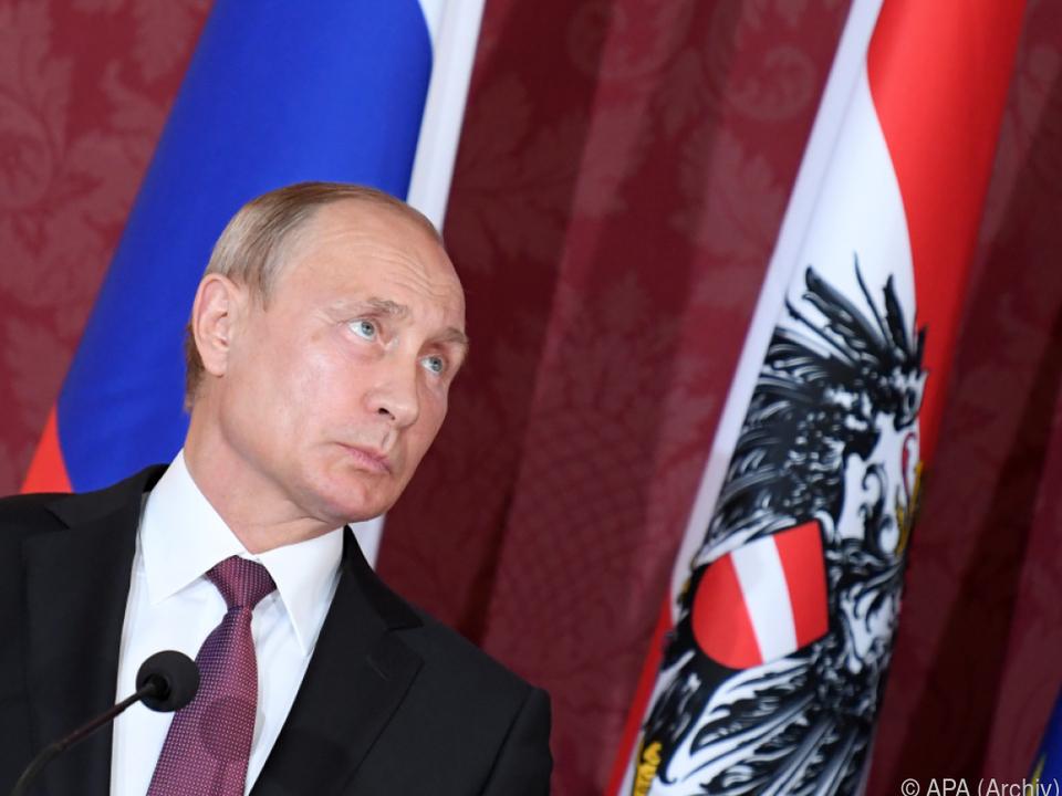 Putin hat gute Beziehungen zu Österreich