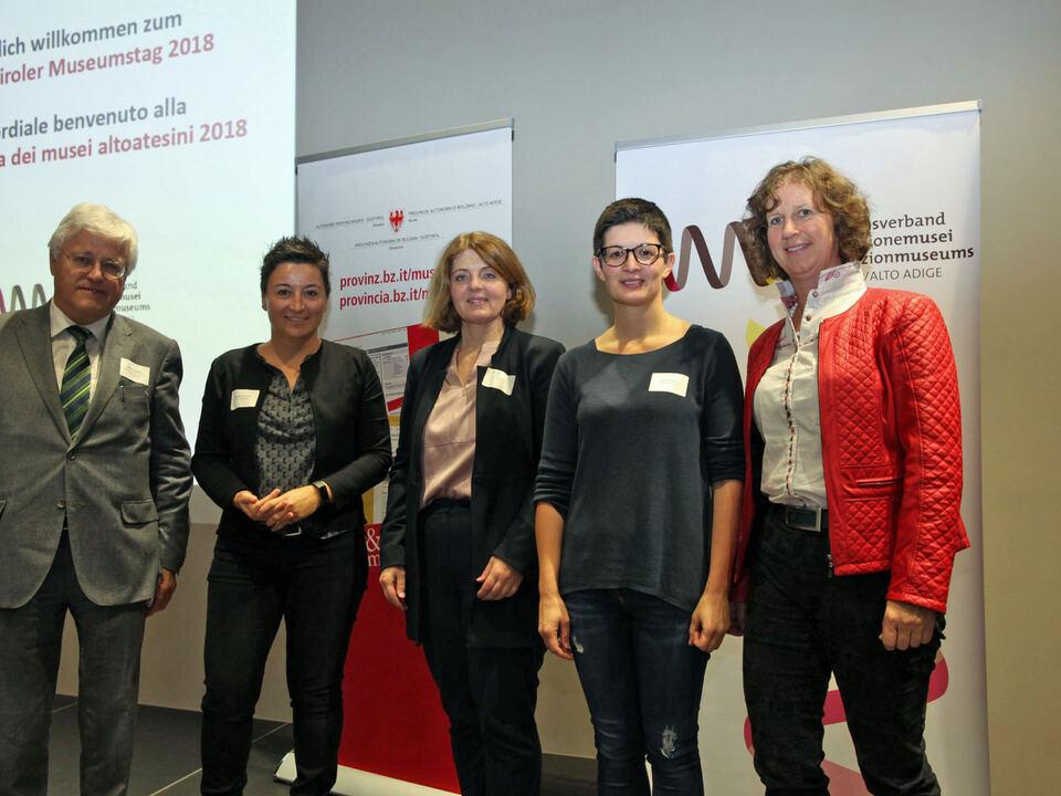 ReferentInnen Südtiroler Museumstag