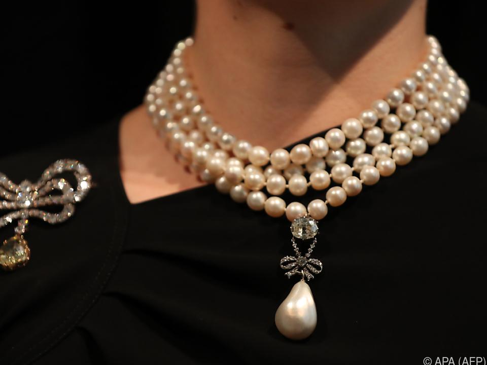 Rekordpreis für eine Perle erzielt