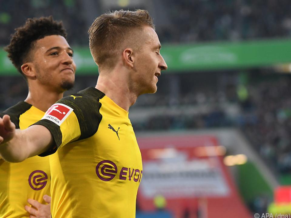 Reus erzielte das Goldtor für Dortmund