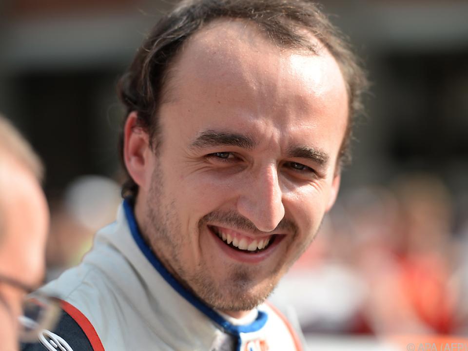 Robert Kubica kehrt zurück in die Formel 1