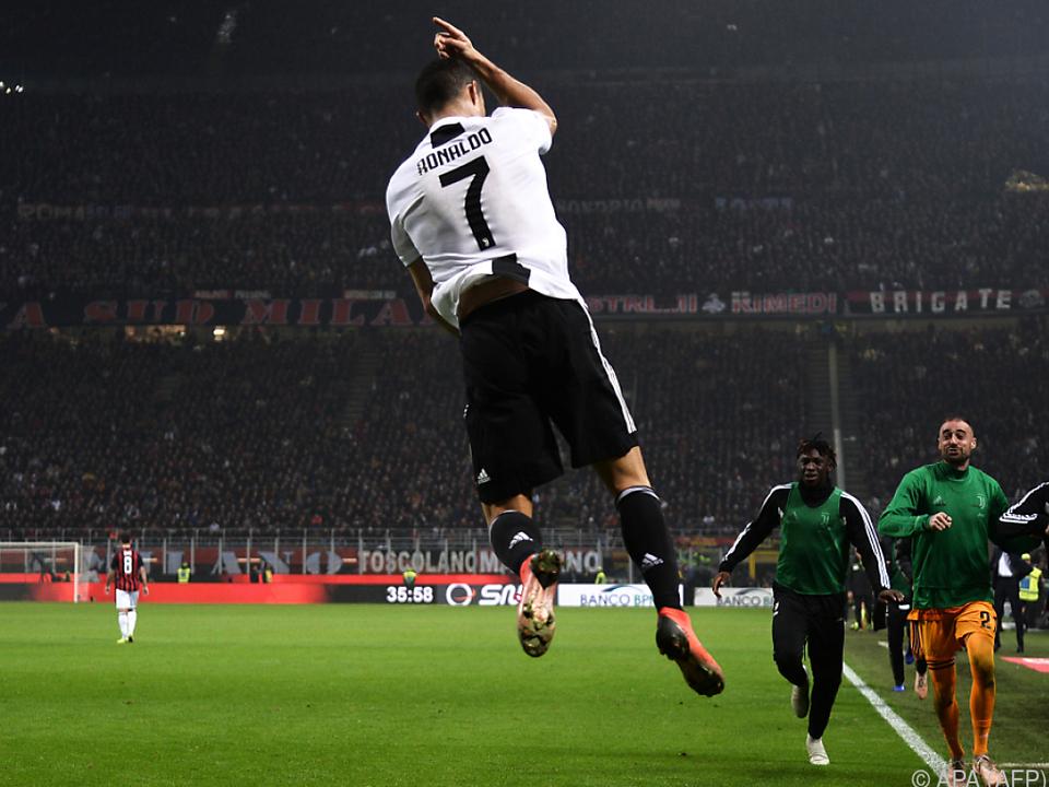 Ronaldo jubelte über sein Tor in der 81. Minute
