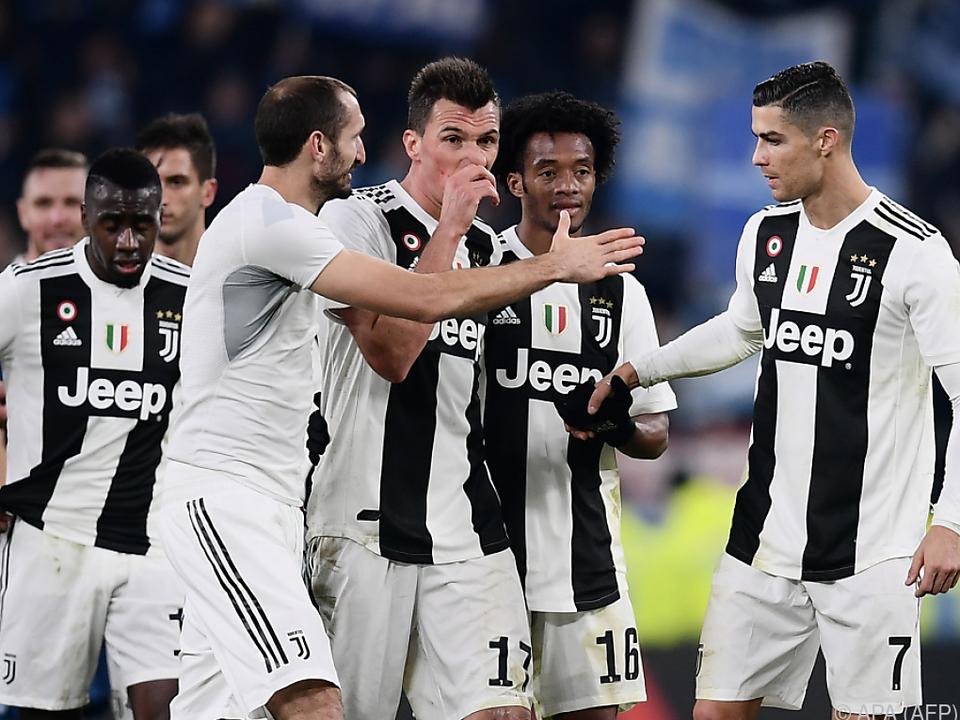 Ronaldo und Mandzukic trafen für Juve