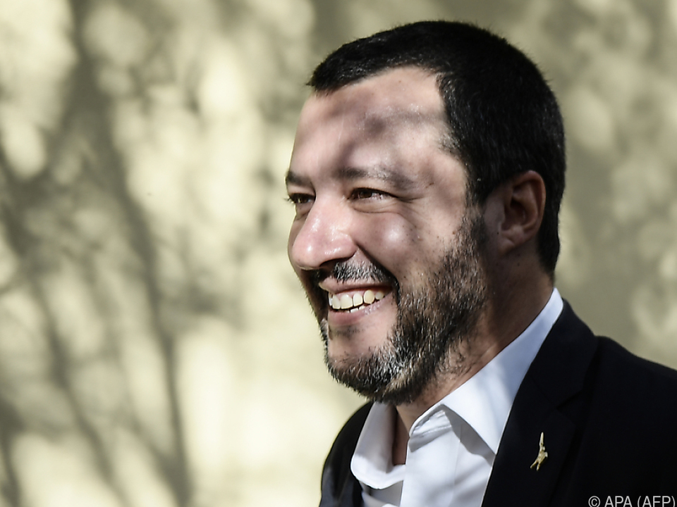 Sanftere Töne von Italiens Vize-Premier Matteo Salvini