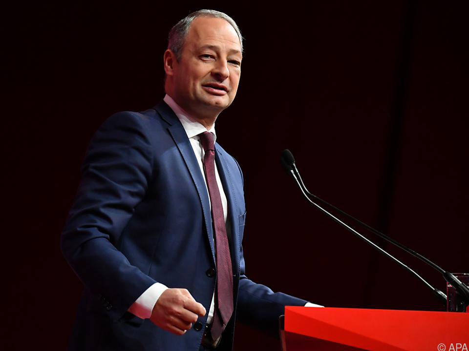 Schieder ist SPÖ-Spitzenkandidat für die EU-Wahl