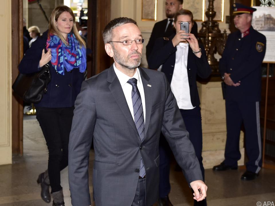 Schwere Vorwürfe gegen Innenminister Kickl
