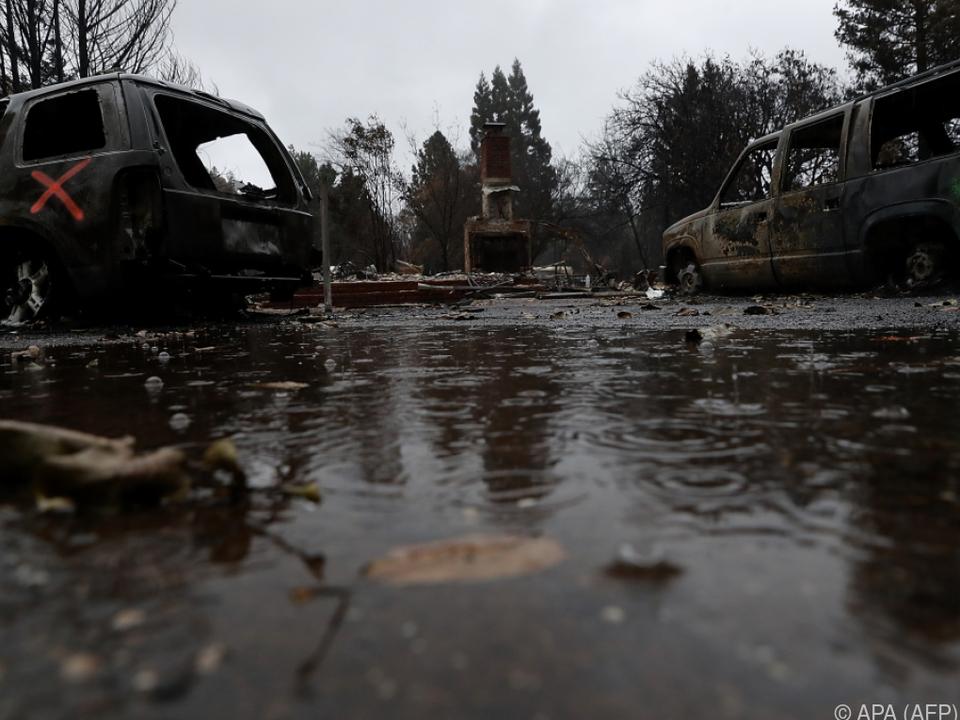 Seit Monaten fielen erstmals nennenswerte Mengen an Regen