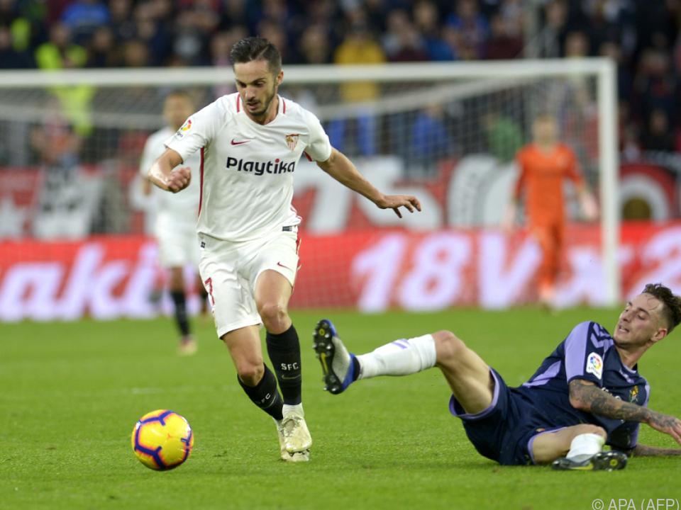 Sevilla profitiert von der Punkteteilung der Konkurrenten