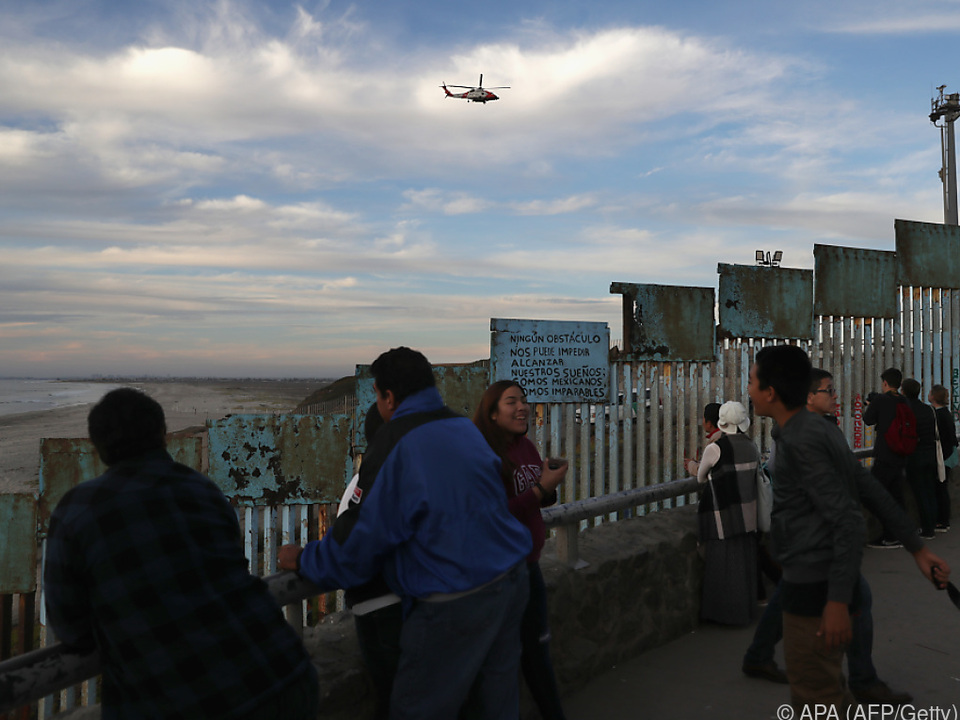 Sicherheitsmaßnahmen an der US-Grenze zu Mexiko wurden erhöht