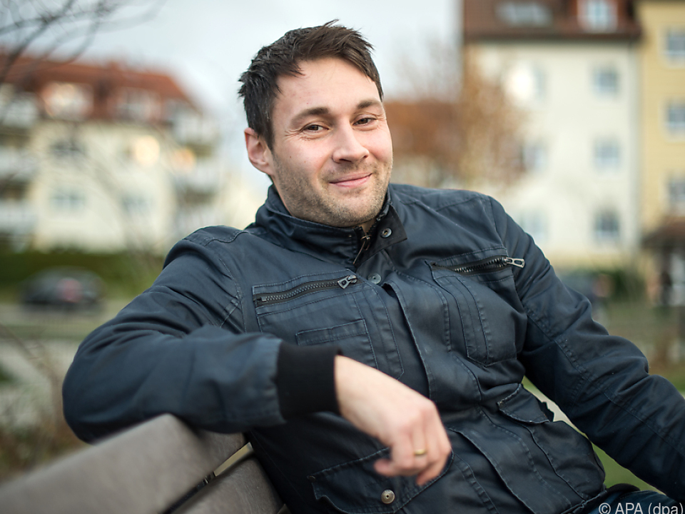 Singender Polizist Sebastian Stipp