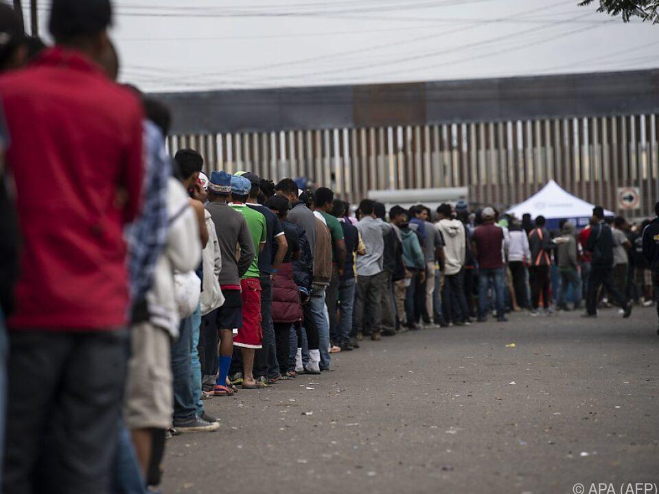 Situation am Grenzübergang Tijuana