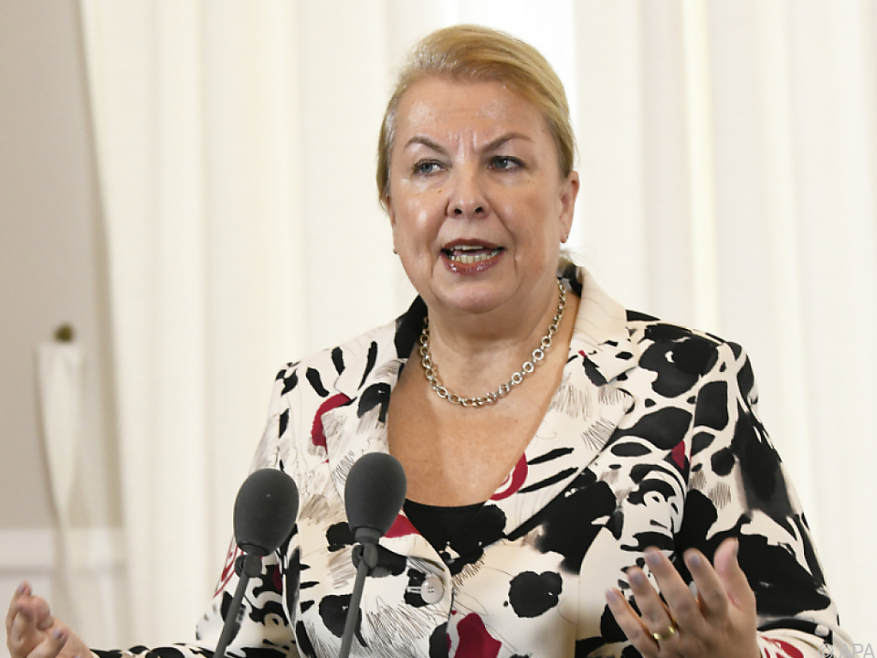 Sozialminister Beate Hartinger-Klein