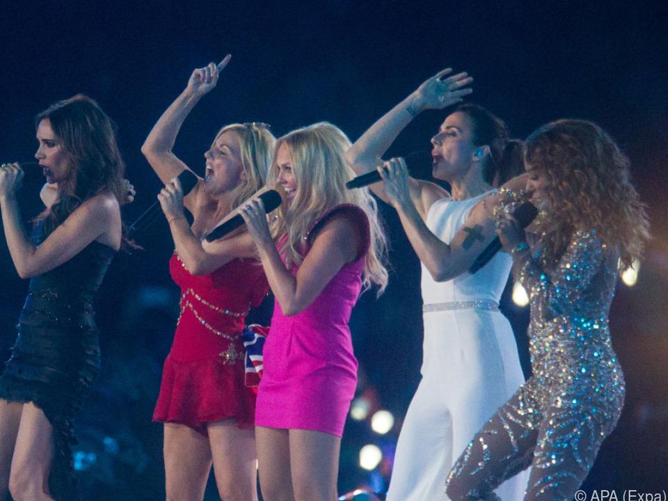 Spice Girls werden wohl ohne Victoria Beckham (ganz links) auftreten