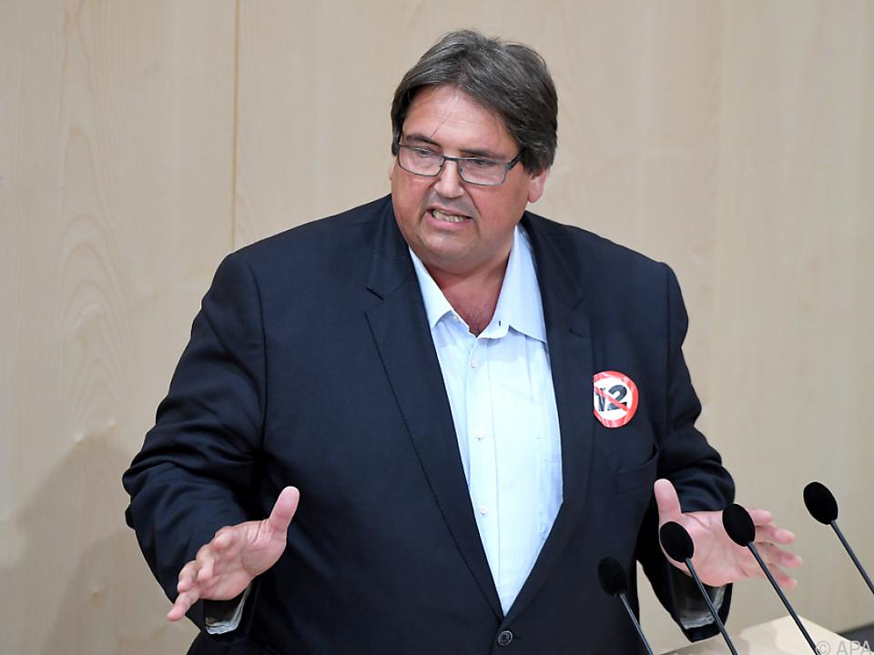 SPÖ-Sozialsprecher Josef Muchitsch