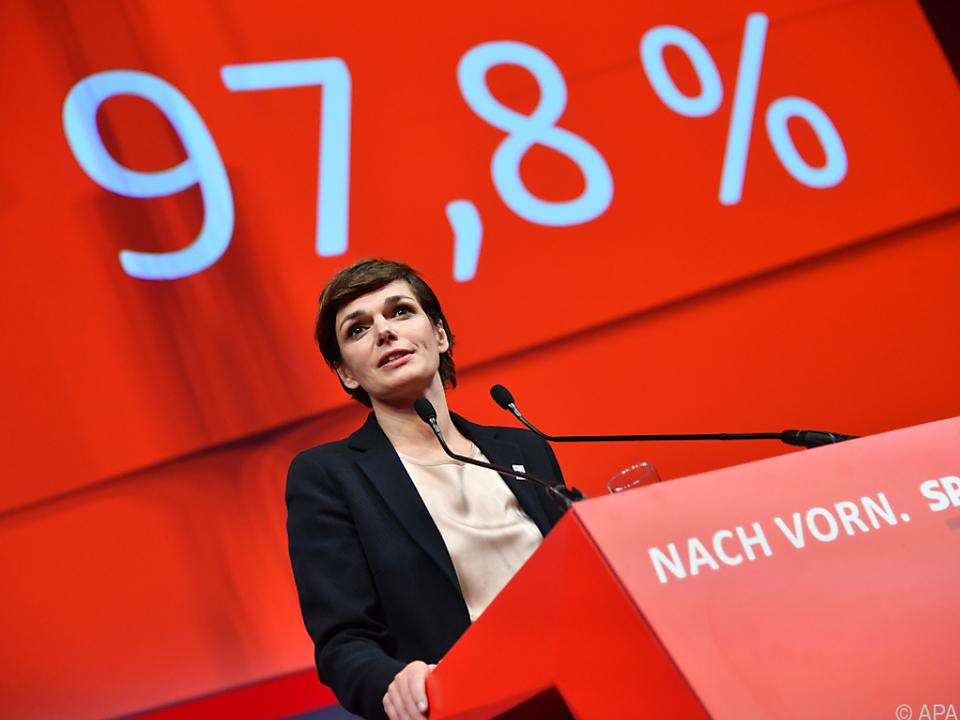 SPÖ wählte die neue Parteichefin mit überzeugendem Ergebnis