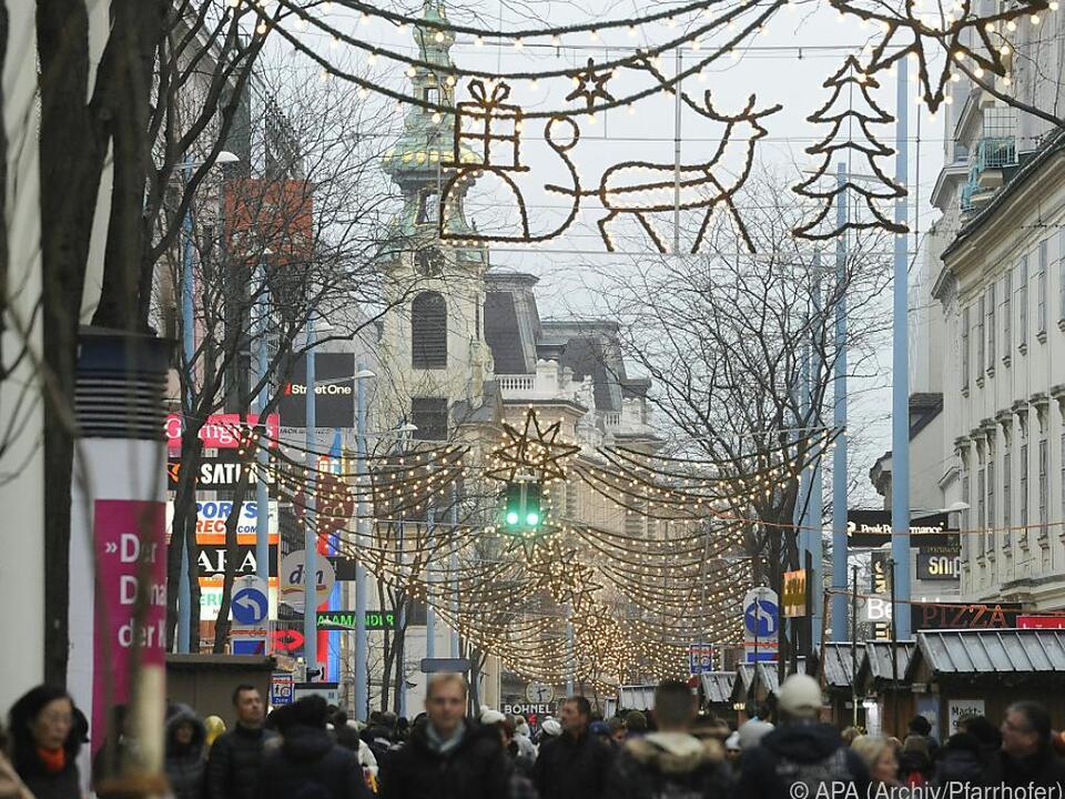 Startschuss für das heurige Weihnachtsgeschäft