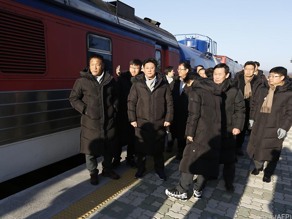 Südkoreanische Experten reisten nach Nordkorea