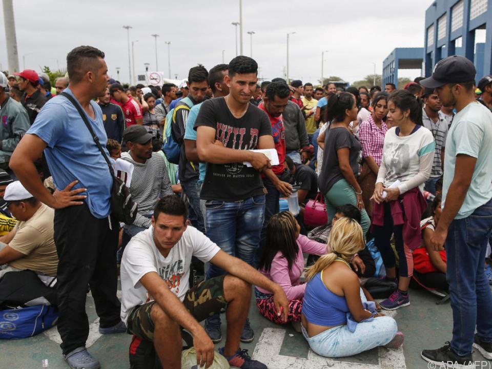 Täglich verlassen Tausende ihr Land