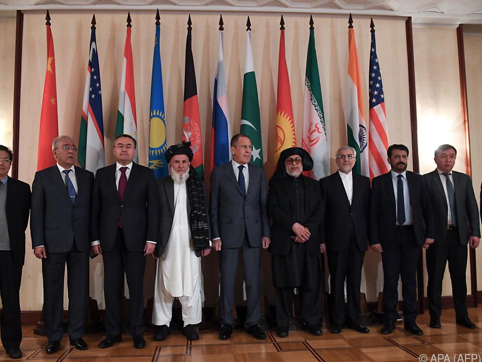 Taliban-Vertreter bei Konferenz in Moskau
