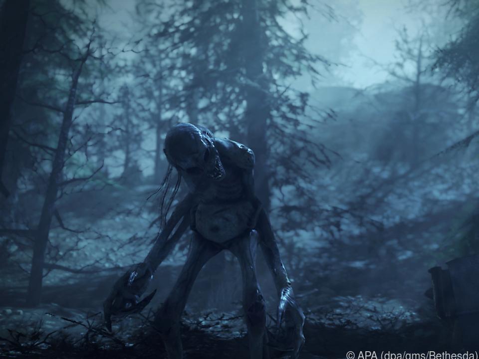Begegnungen mit Mutanten zählen zu den Horrorelementen des Spiels