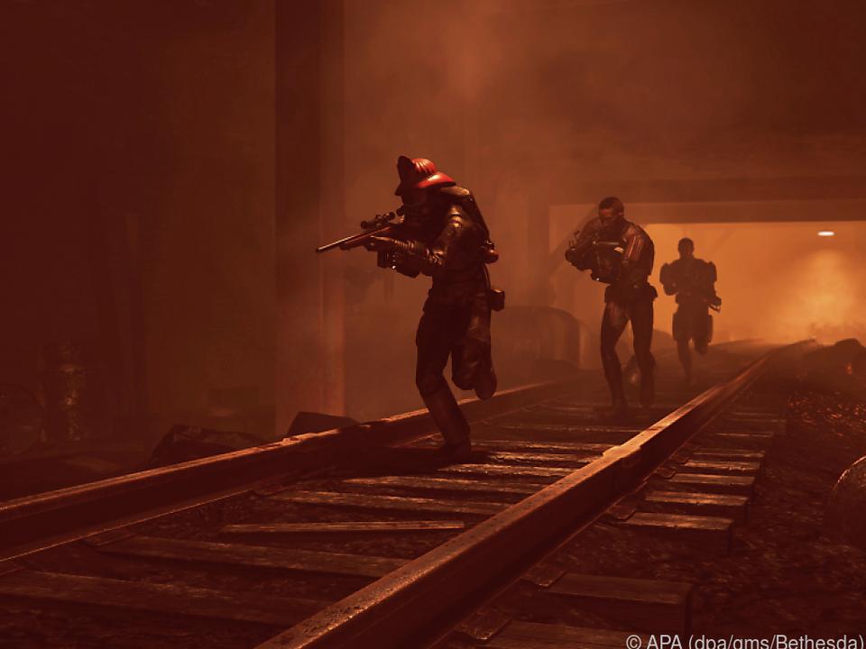 Team im Tunnel: Die Spannung kommt in \