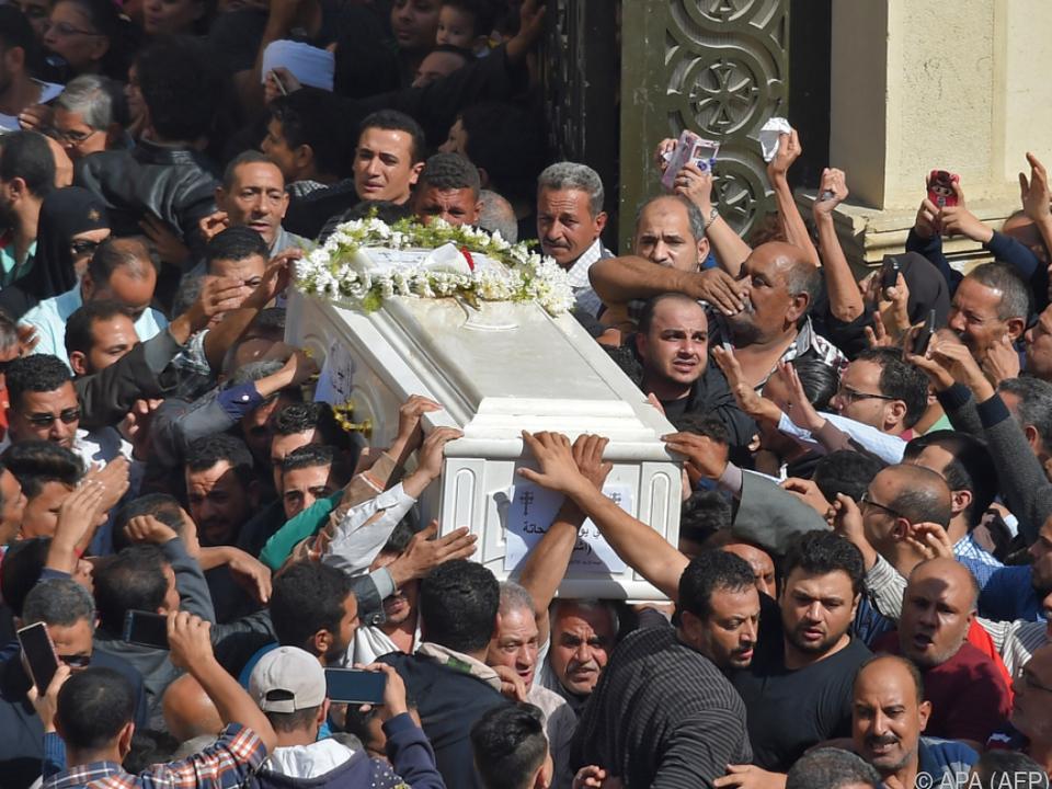 Trauerfeier in Minya