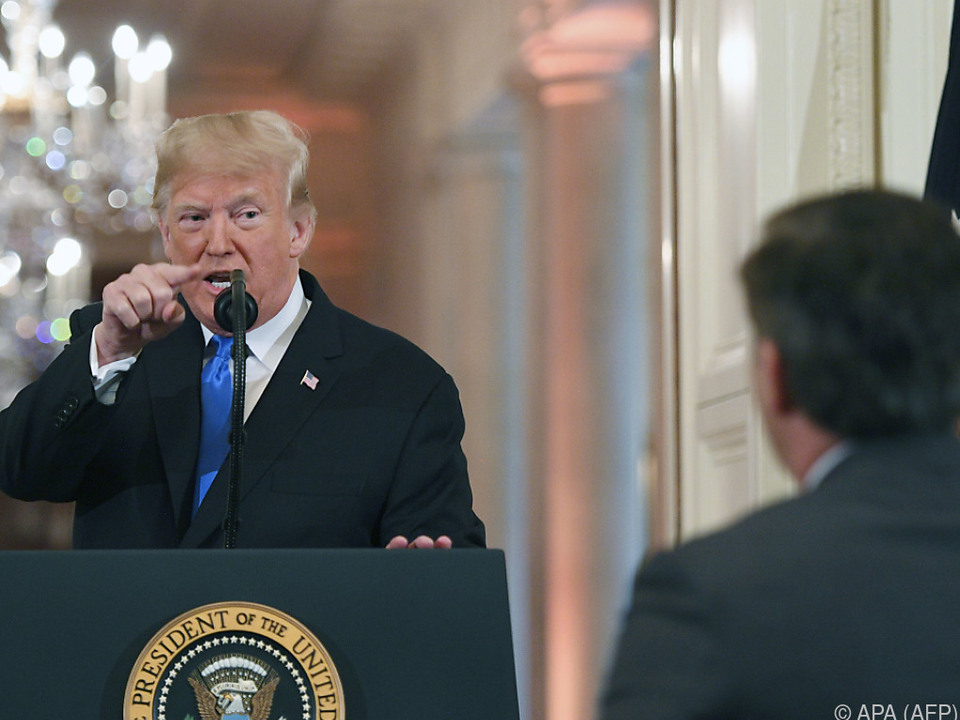 Trump beschimpfte Acosta als \