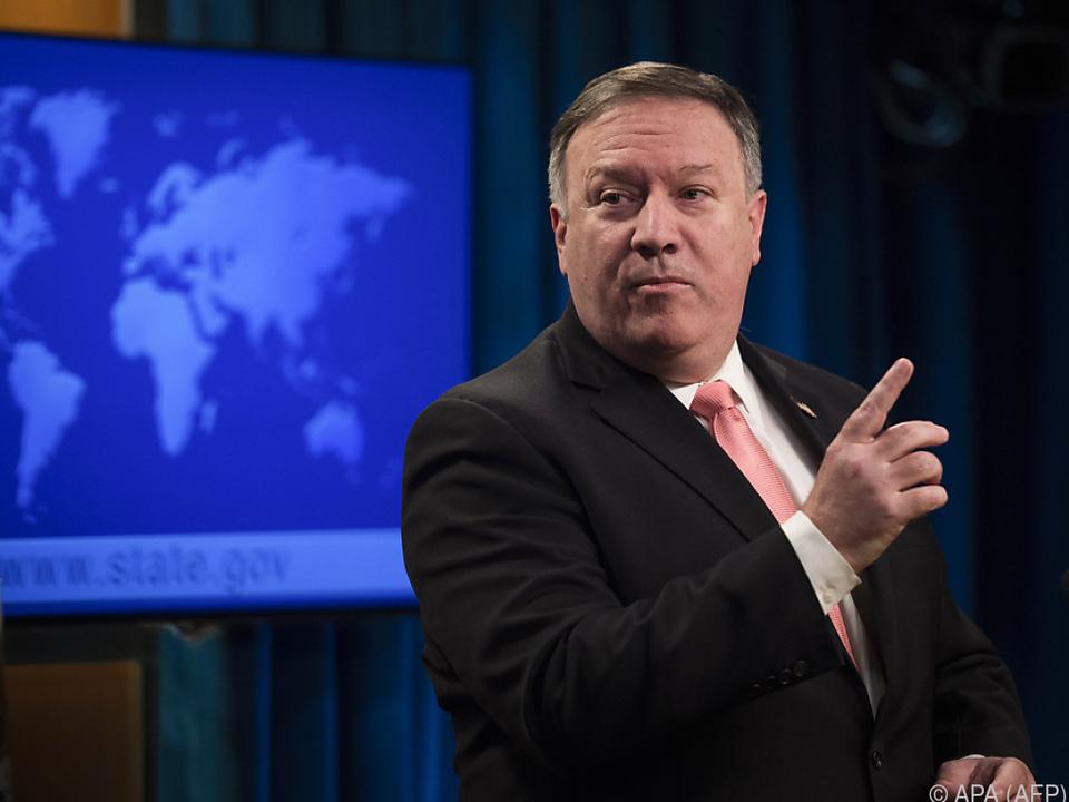 US-Außenminister Pompeo präsentierte Ausnahmen von den US-Sanktionen