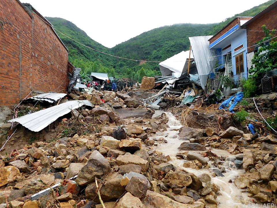 Verheerende Erdrutsche in Vietnam
