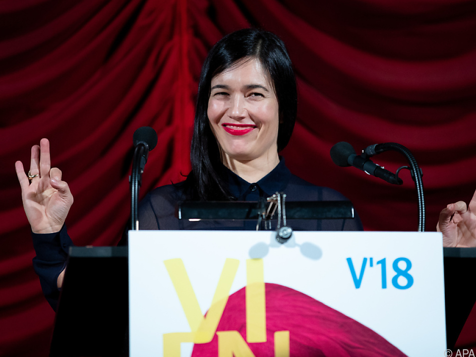 Viennale-Direktorin Eva Sangiorgi freut sich