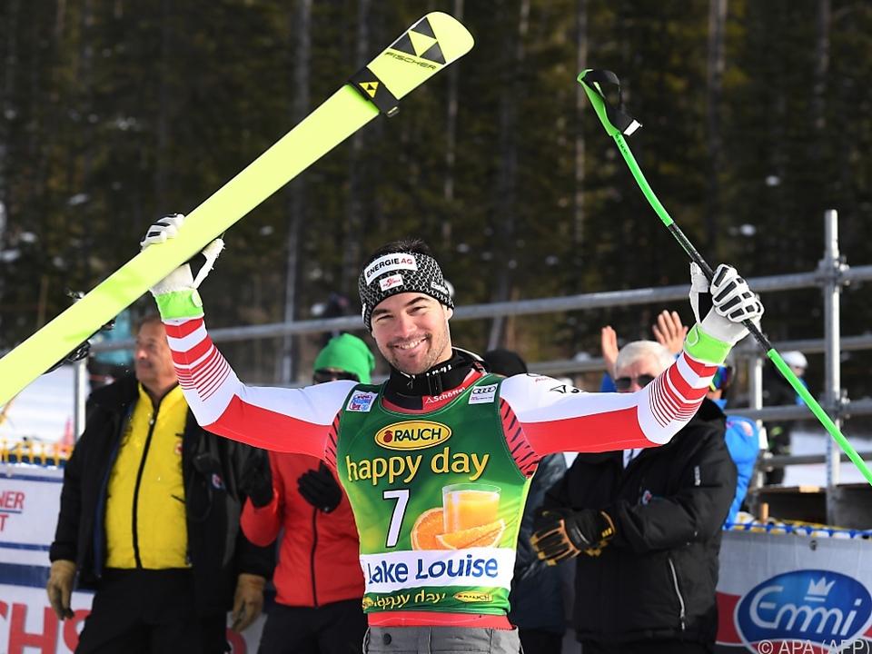 Vincent Kriechmayr führt erstmals die Weltcup-Gesamtwertung an