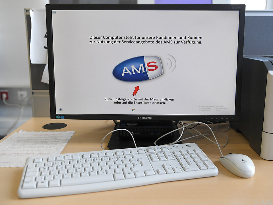 Wegen IT-Schwierigkeiten benötigt AMS offenbar 35 Mio. Euro zusätzlich