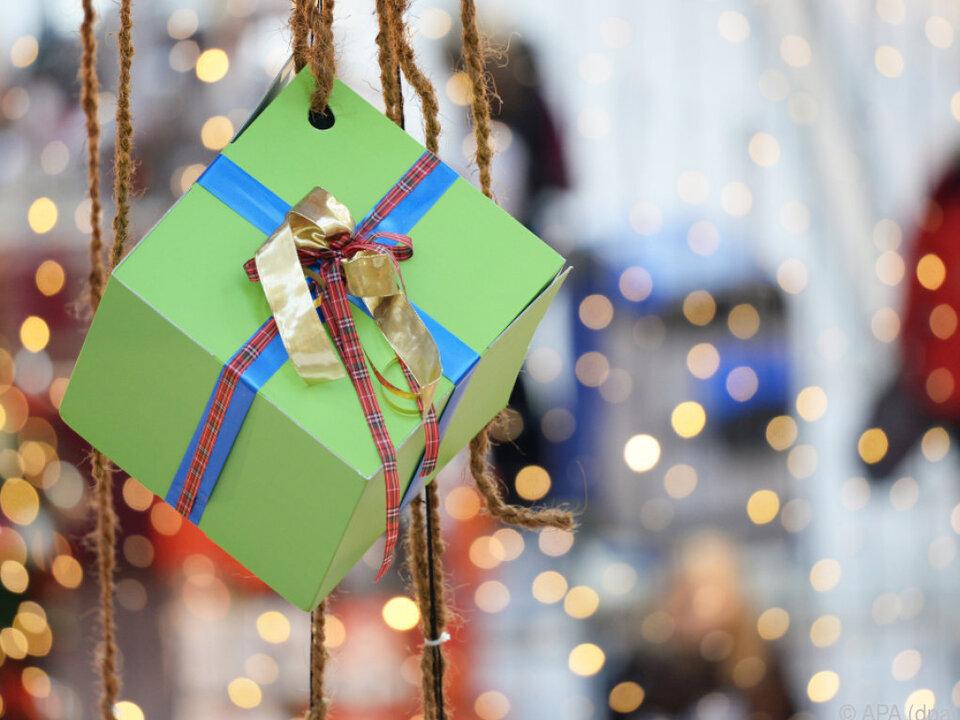 Welche Geschenke dürfen es diesmal sein?