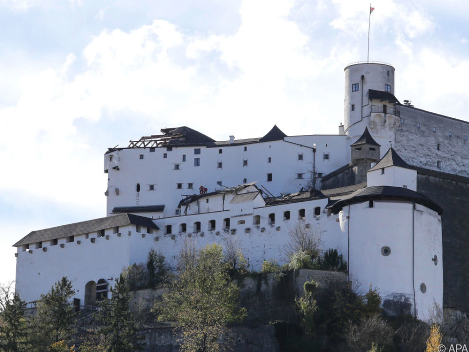 Weltberühmte Festung schwer beschädigt