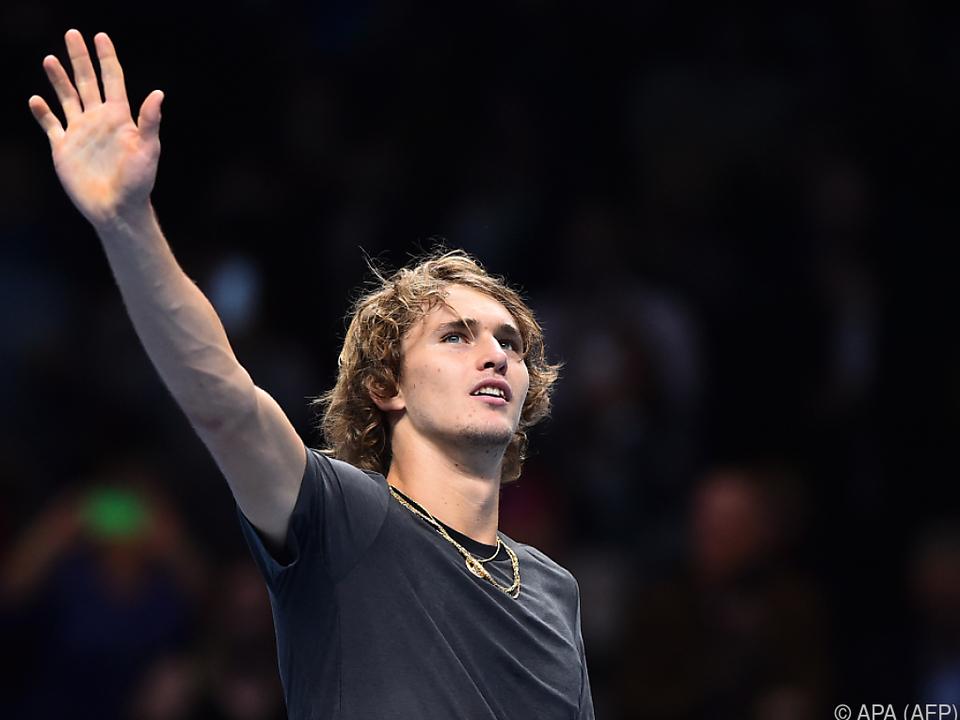 Zverev trifft nun auf Federer