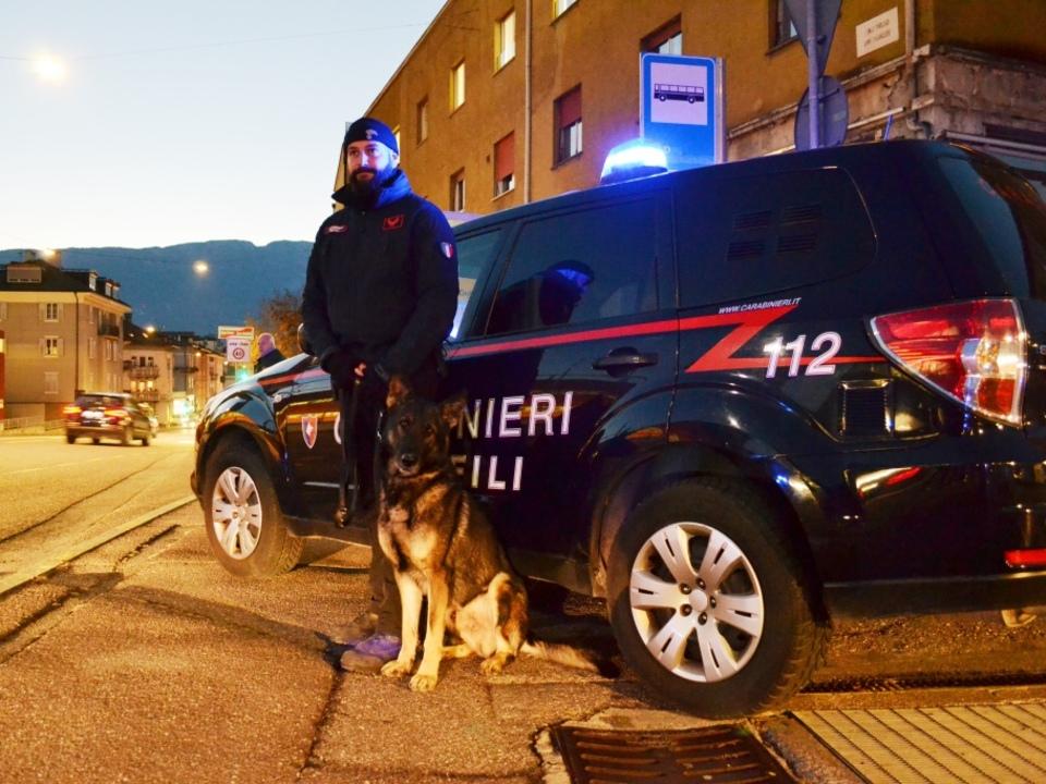 20181212 carabinieri - controlli del territorio in alto adige - notturno