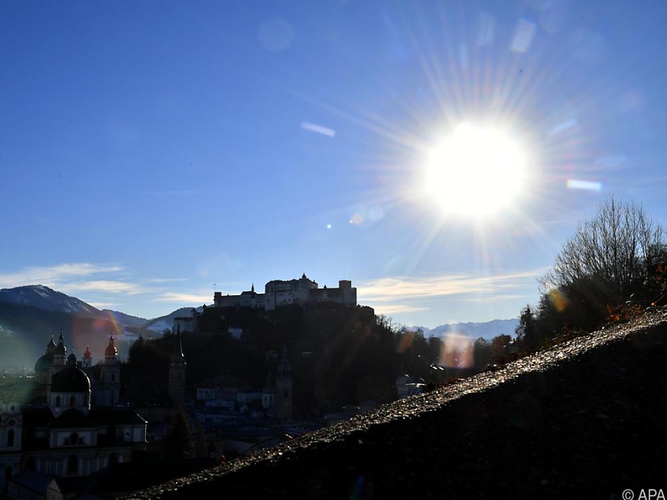Ab Dienstag sollte zeitweise die Sonne durchkommen