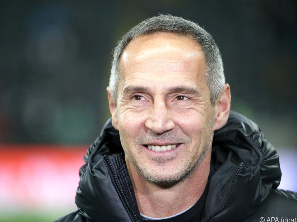 Adi Hütter mit Frankfurt vor brisantem Duell mit Bayern
