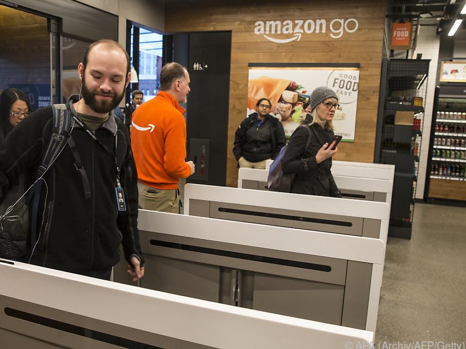 Amazon-Go-Geschäfte kommen ohne Kassen aus