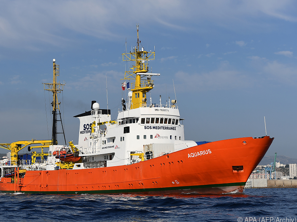 Aquarius rettete 29.000 Menschen aus dem Meer